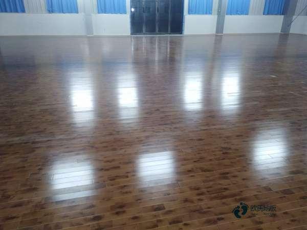 五角枫体育馆木地板板式龙骨结构