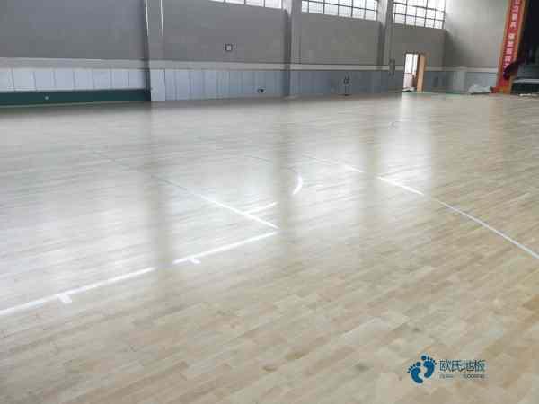 枫桦木舞蹈房木地板品牌厂**