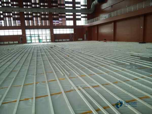 比赛场馆体育场木地板直销