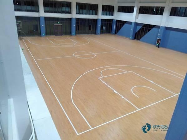专业篮球馆地板批发