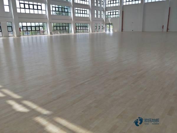 22厚运动木地板安装工艺
