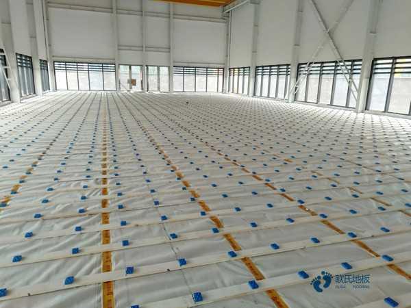 赛事场馆篮球木地板厂