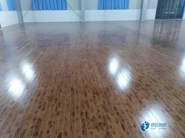 吉林枫桦木实木运动地板每平米价格