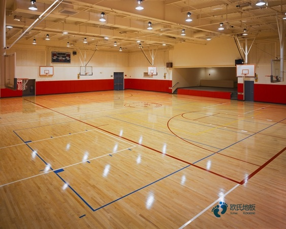 指接板篮球场木地板市场价格表