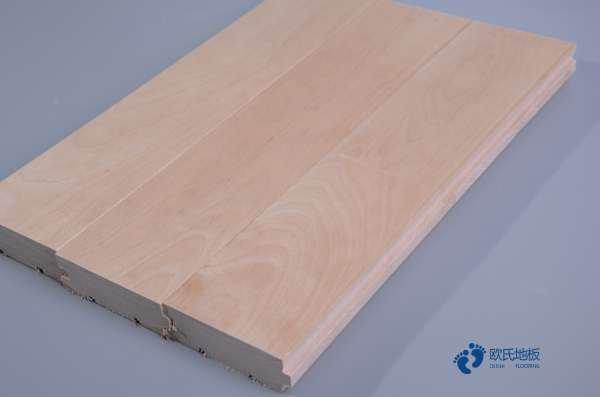 拼接板木地板篮球场价格是多少钱?