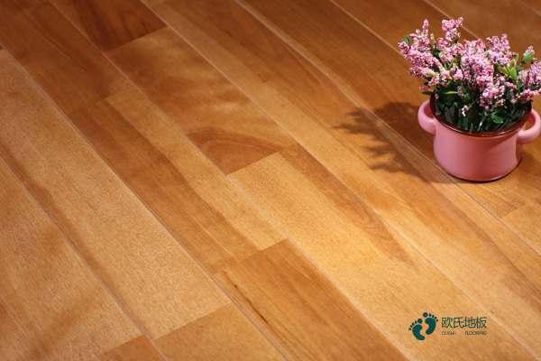 室内木地板抗压