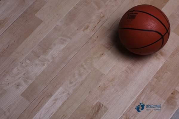 枫木篮球运动木地板一平米价格