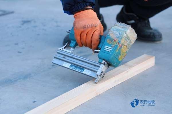 室内木地板结构做法