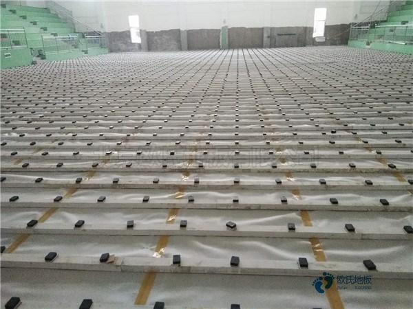 用什么专业体育场木地板