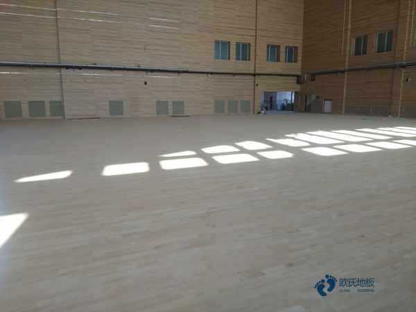 用哪种专业篮球地板