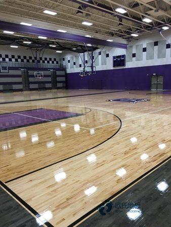 用哪种专业篮球木地板