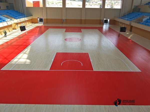 用哪种专业运动篮球木地板