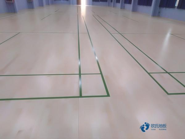 篮球场地板厂家报价