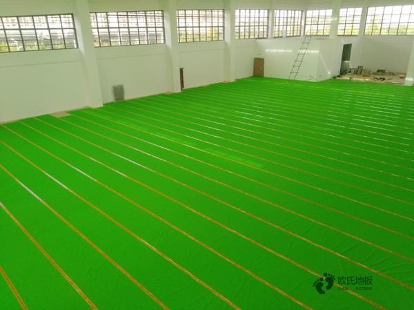 枫木篮球馆木地板维护保养