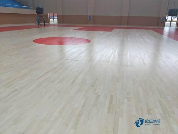 篮球木地板厂家直销