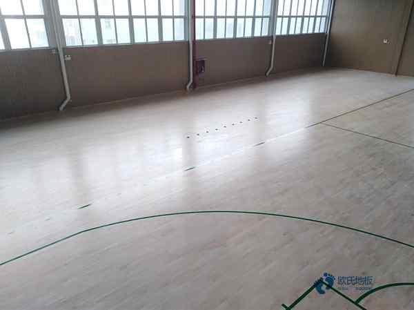 篮球木地板地面材质