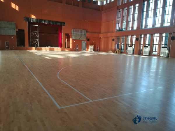篮球木地板多少钱能下来