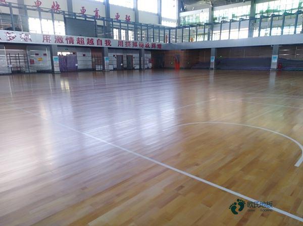 篮球木地板清洁维护