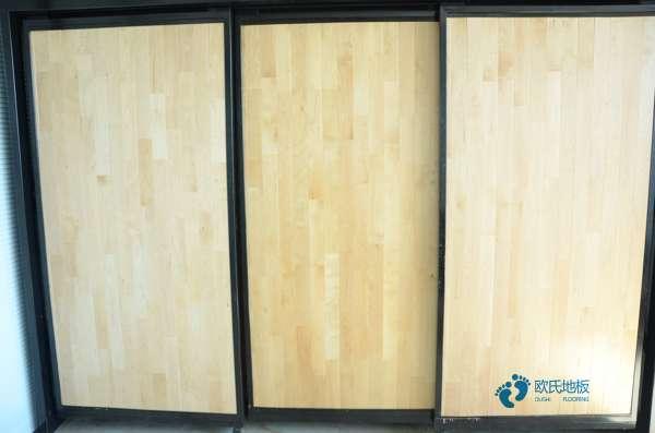 枫桦木运动场地木地板厂家报价