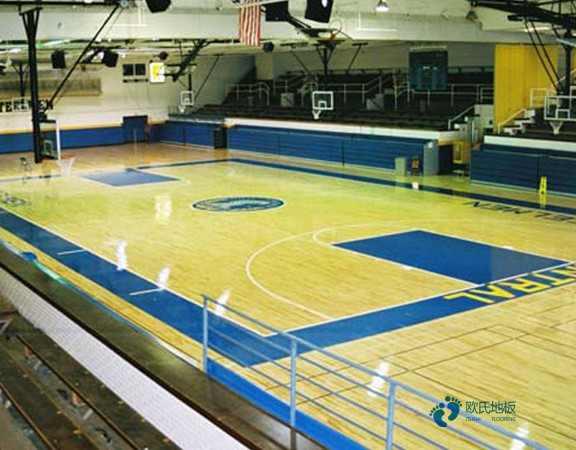 篮球馆木地板怎么拖亮