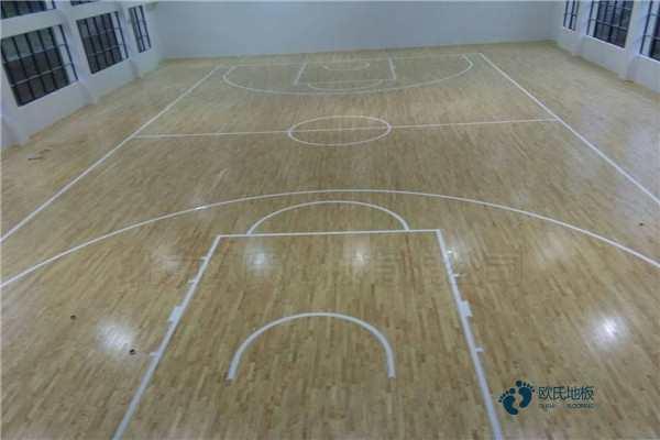 篮球馆木地板报价