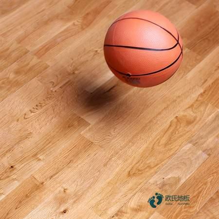 柞木篮球场地地板保养知识