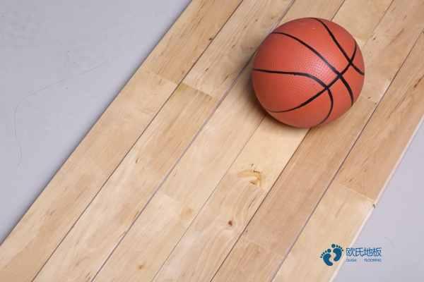 柞木篮球场地地板如何保养