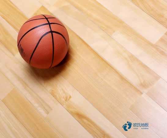 篮球馆木地板耐磨