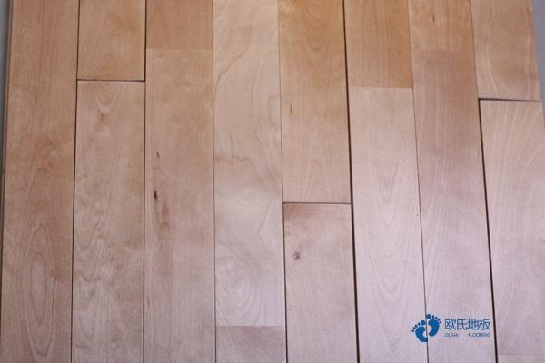 篮球馆木地板节点