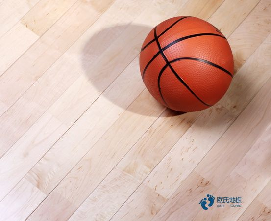 柞木篮球场馆木地板保养