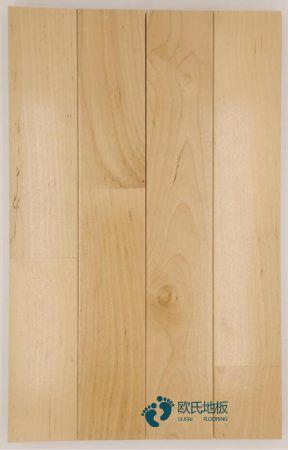 柞木篮球场馆木地板保养知识