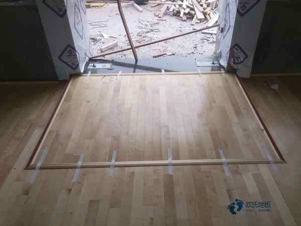 柞木篮球场馆木地板环保