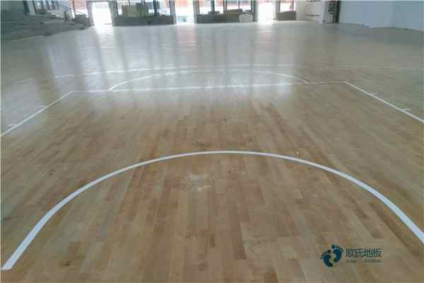 篮球馆木地板龙骨结构