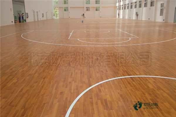 运动体育地板专业养护