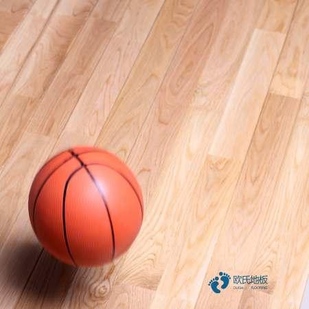 柞木运动场地板保养方法