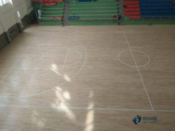 运动体育木地板专业养护