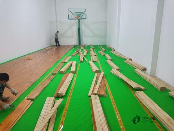 运动场馆木地板多少钱