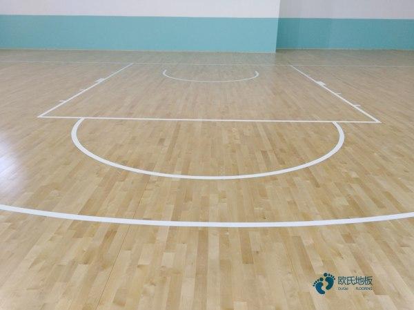 运动篮球地板价钱
