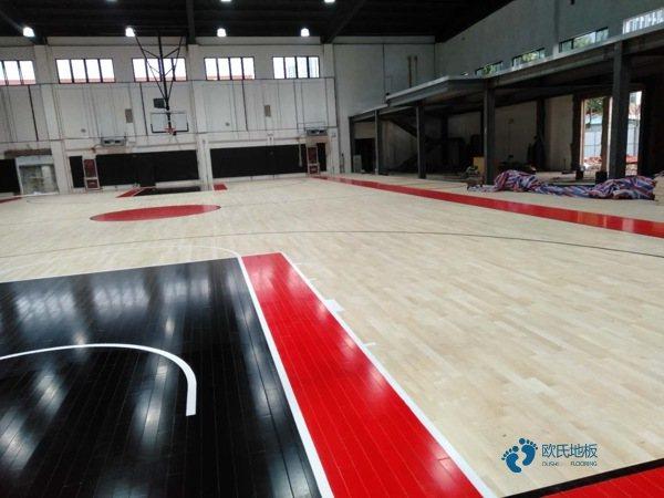 运动篮球地板大概多少钱