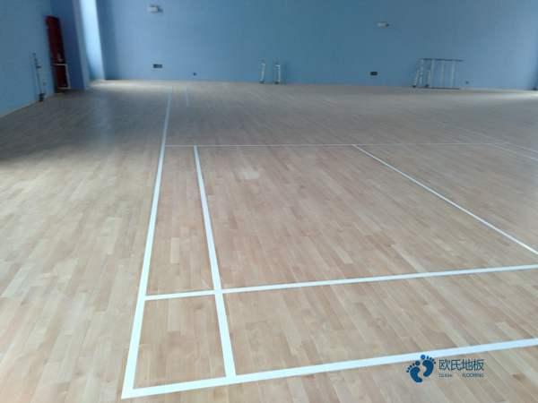 运动篮球木地板大概多少钱
