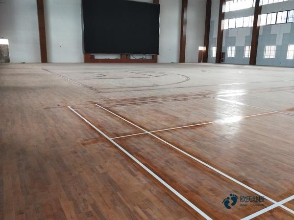 运动馆木地板价钱