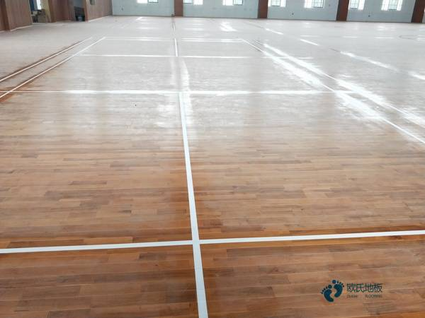 运动馆木地板多少钱
