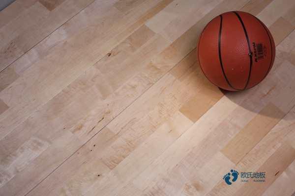 品牌厂家橡胶木体育木地板