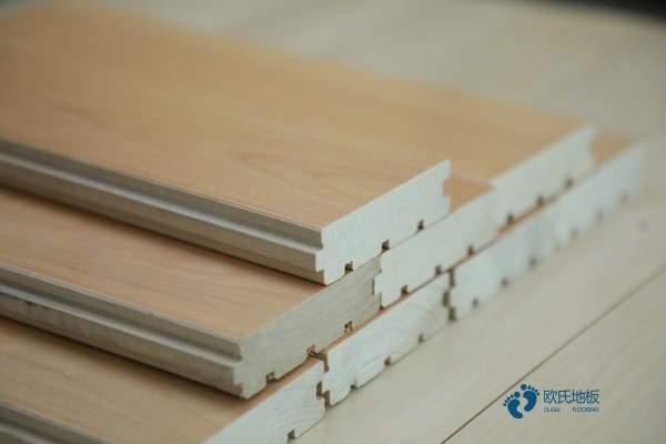 22mm厚运动体育木地板厂家报价