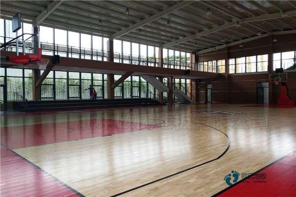 25厚体育场馆木地板厂家报价
