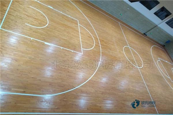 一般体育场木地板施工队