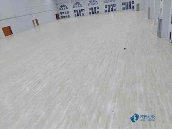 一般体育篮球木地板施工工艺