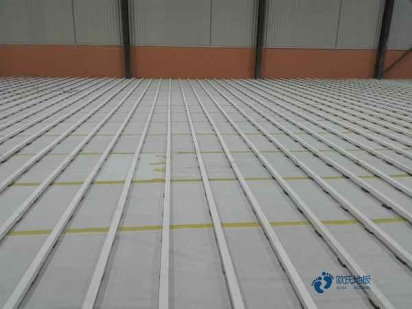 一般体育馆地板施工工艺