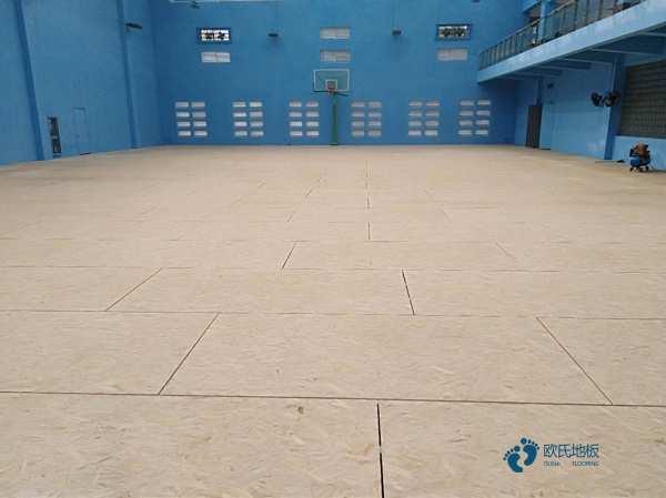 一般体育馆木地板施工流程