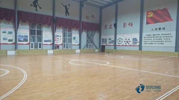 一般篮球体育地板施工步骤